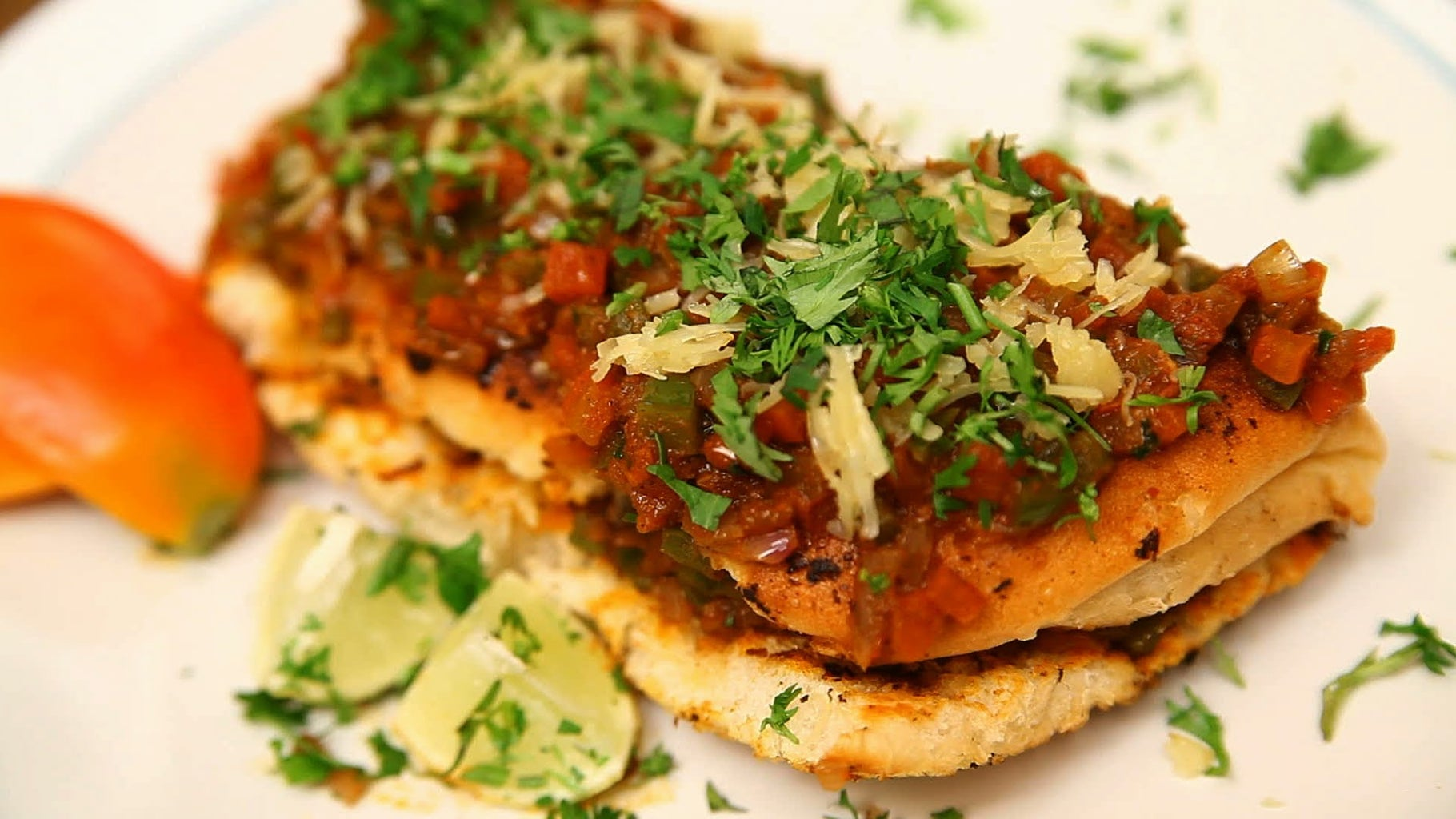 Indian Msala Pav Recipes Tutorial Learn Easy