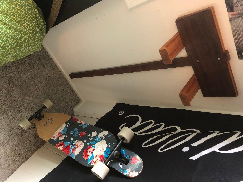 How to Make a Longboard Hanger