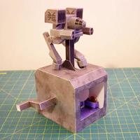 Papercraft Mech Warrior