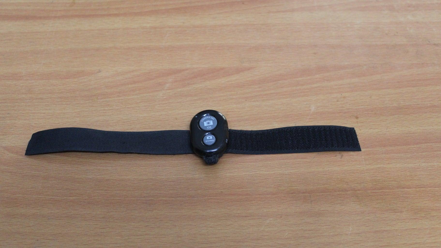 The Bluetooth Camera Shutter Wristband
