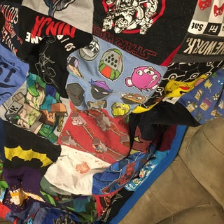 How to Make Quilt From Old T-Shirts