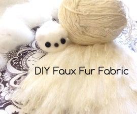 Faux Fur Using Yarn