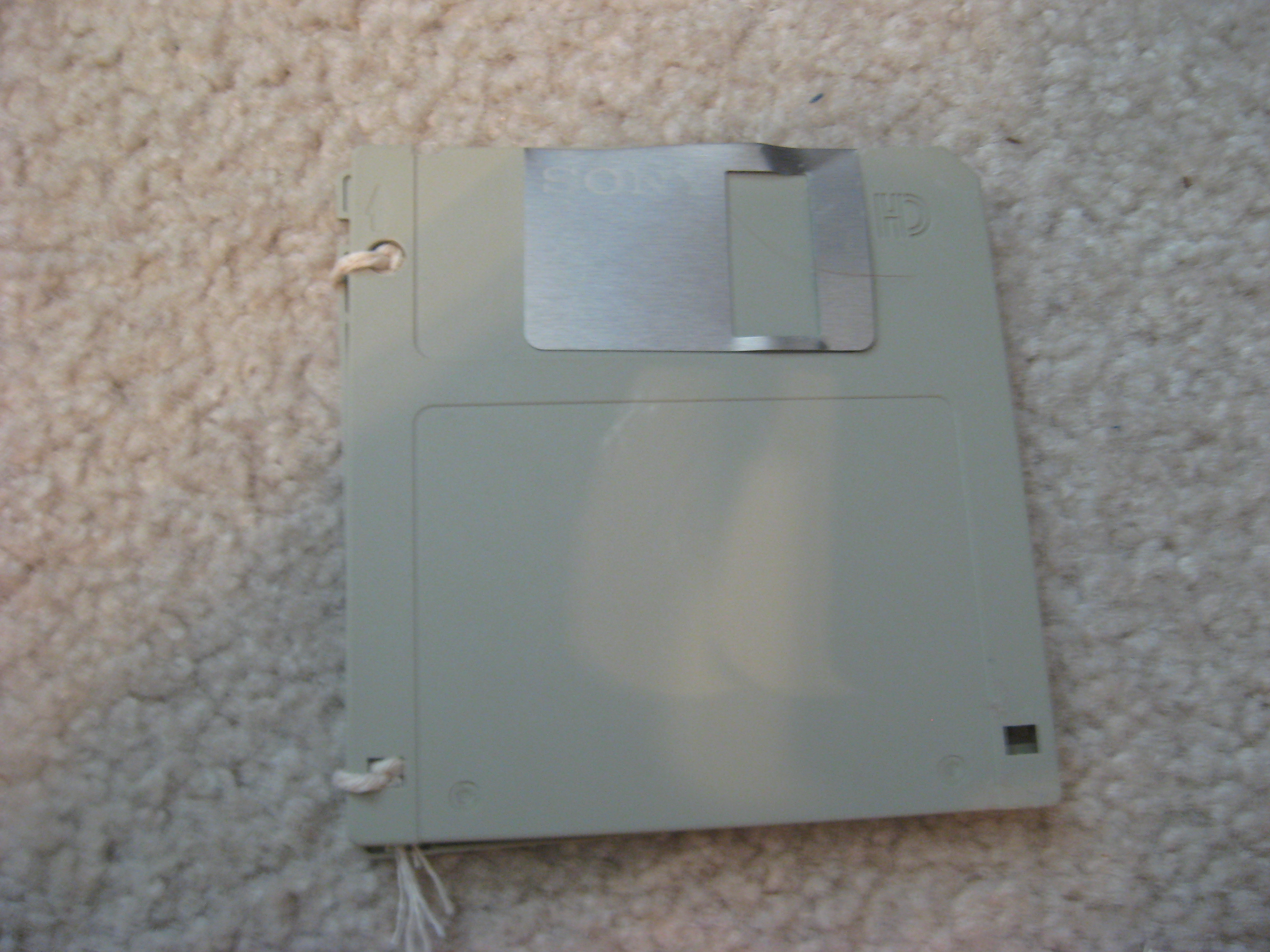 Floppy Disk Greeting Card