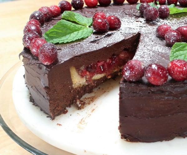Christmas Pie-cake - Vegan and Gluten-free