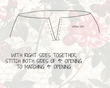 Join Petticoat to Lining