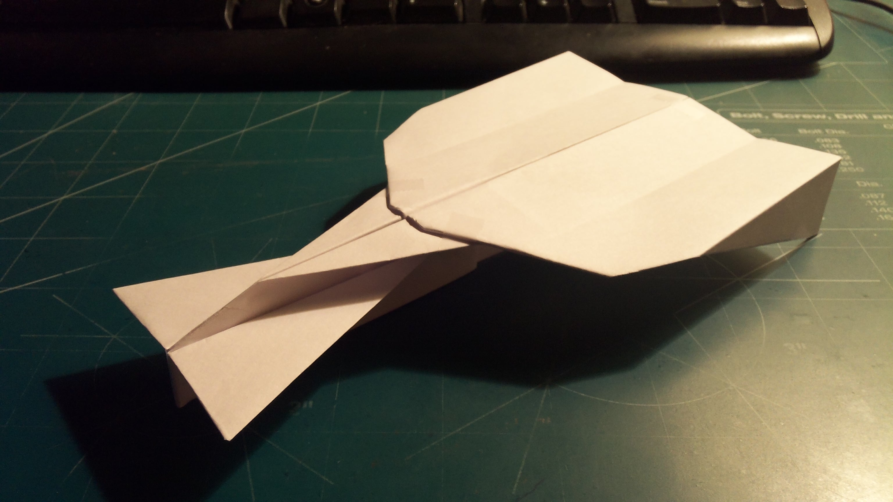 How To Make The Super StratoVulcan Paper Airplane