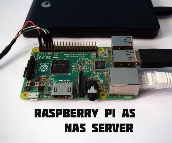 Raspberry Pi As a NAS (Network Attached Storage)