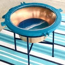 Make a Cool Outdoor Table From an Old, Busted Porthole!