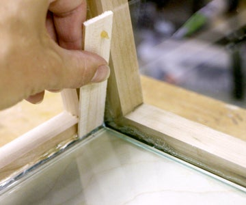 Gluing in Your Glass