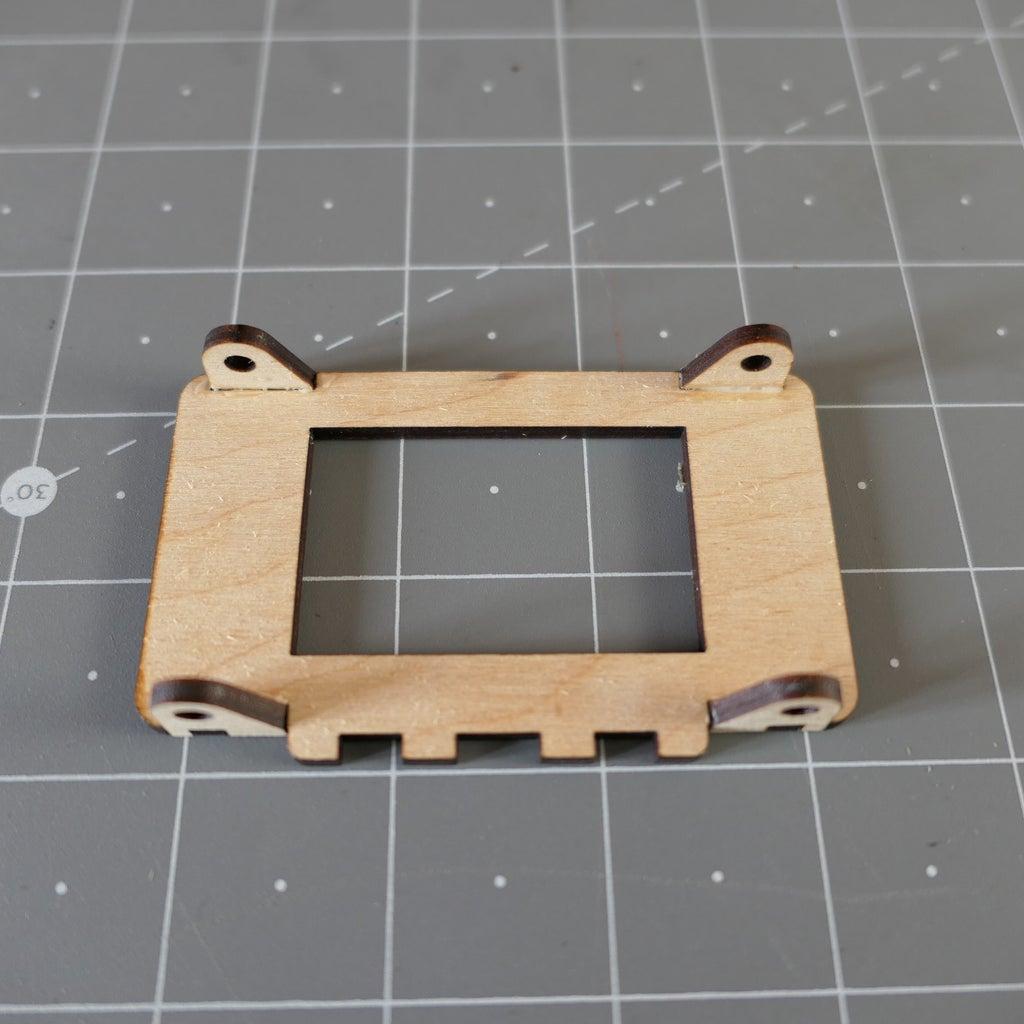 Glue the Crank Bearings