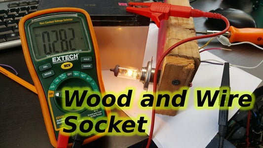 Wood and Wire Socket