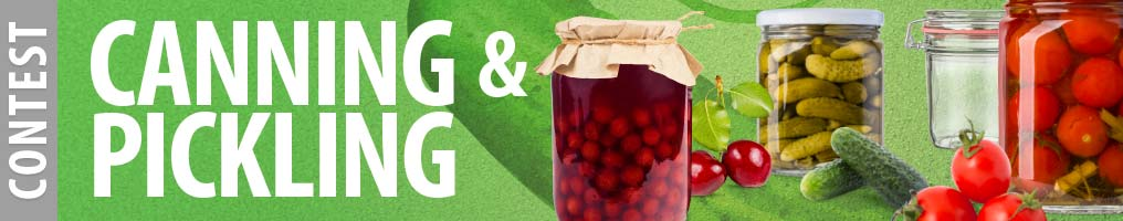 Canning and Pickling Contest 2016