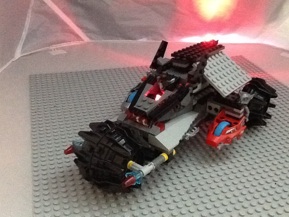 How To Make A Lego Wolf Vehicle