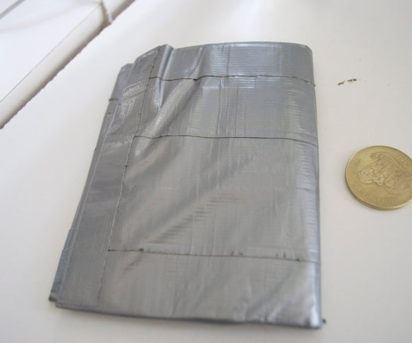 Duct Tape Wallet for Big Money