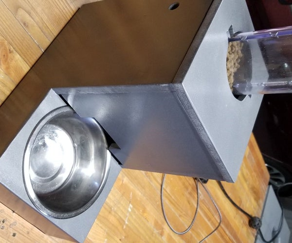 IoT Cat Feeder Using Particle Photon Integrated With Alexa, SmartThings, IFTTT, Google Sheets