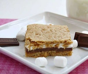 Baked S'mores Bars