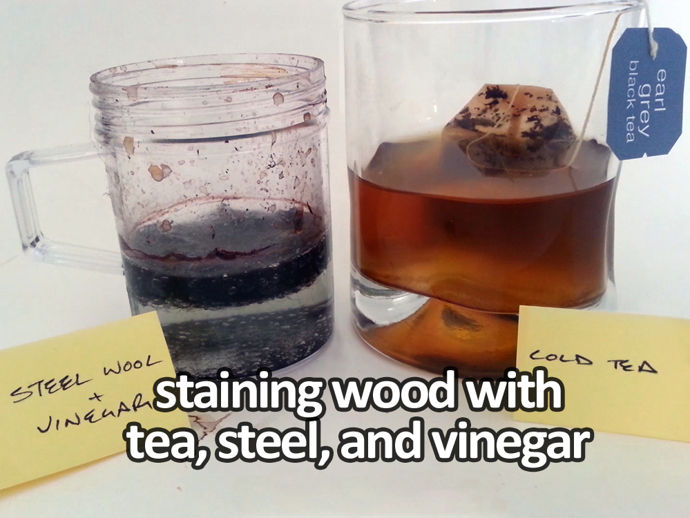 tea staining