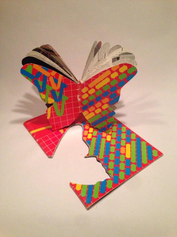 Cut Silhouette Book Art