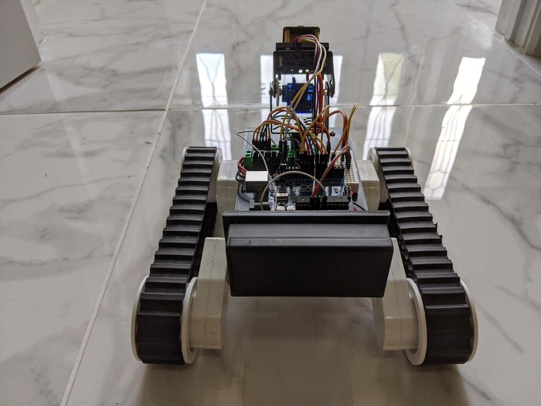 Ball/Human Following Robot