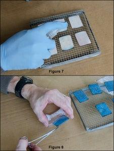 Re-coating the Repellant Mats