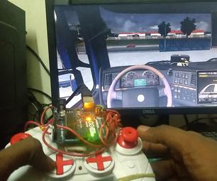 Arduino游戏控制器的PC和Android