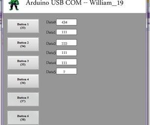 Arduino USB Communication - Processing Program
