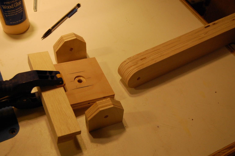 Fabricating the Rotating Hub