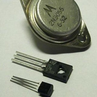 Touch Switch Using Transistor