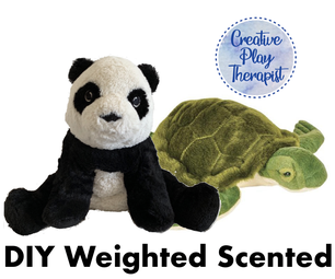 Weighted, Scented Stuffed Animal