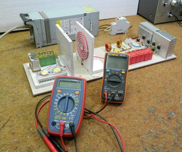 Wireless Energy(power) Transfer Experiment