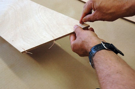 """Wire or """"Stitch"""" Together the Plywood Panels"""