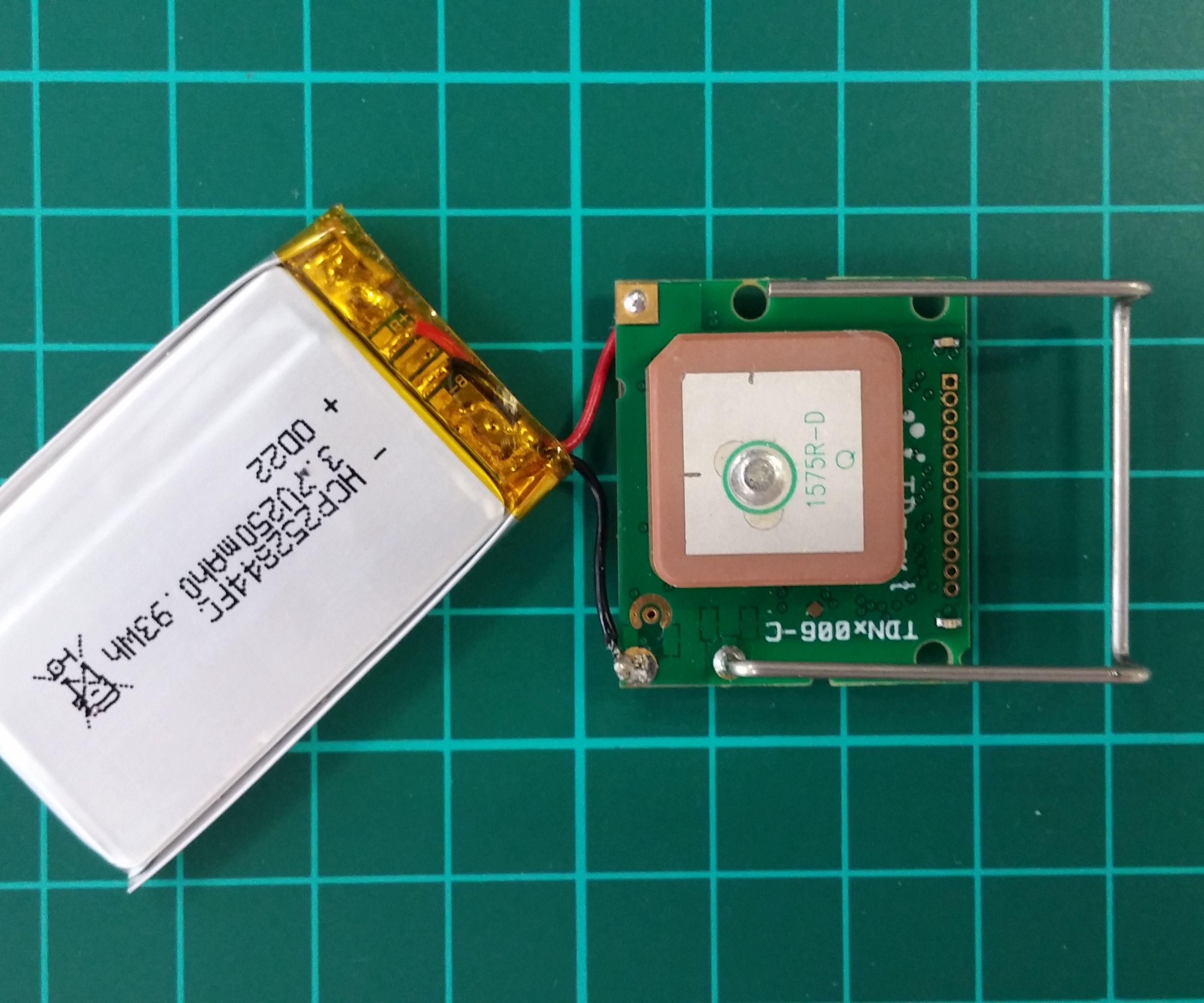 Sigfox GPS Tracker