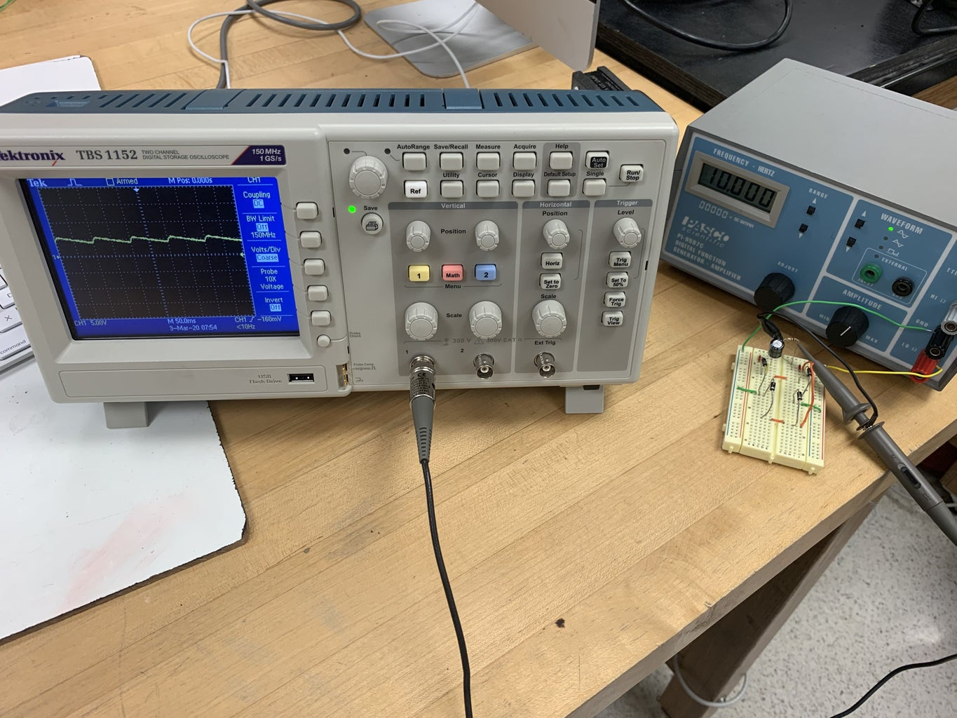 (Optional) Use a Function Generator and an Oscilloscope to Check!