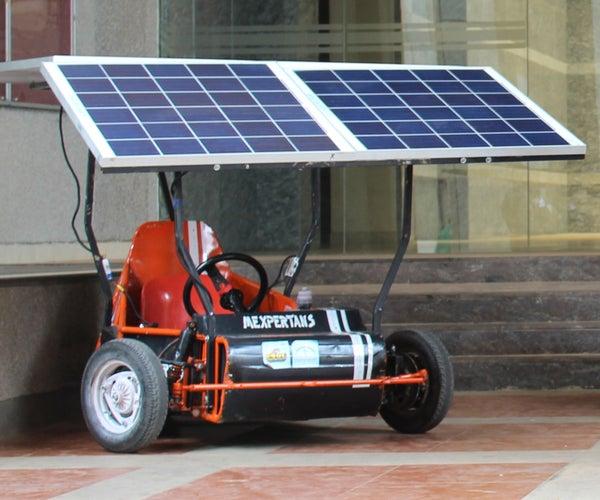 Solar Electric Kart