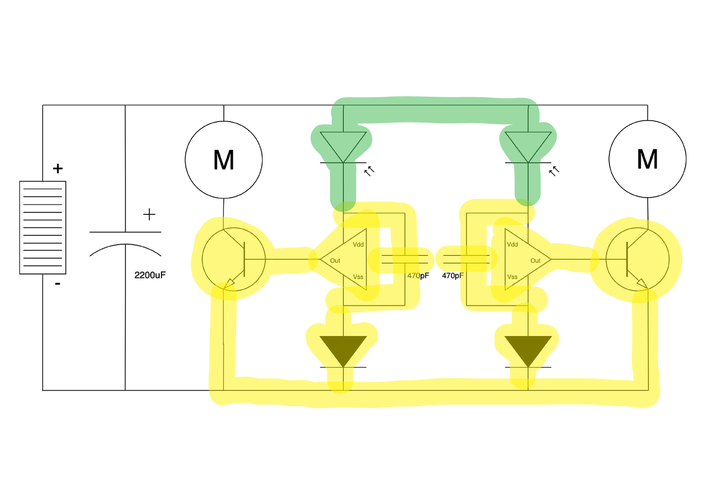 Freeforming the Circuit 8: Photodiodes