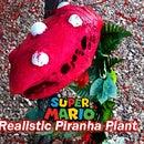 3ft Realistic Piranha Plant From Mario