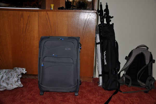 Cheap Suitcase for 2 Flash Units