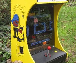 Pac Man Squirrel Feeder