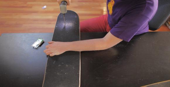 Drill the Skateboard