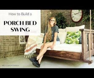 DIY Porch Swing床