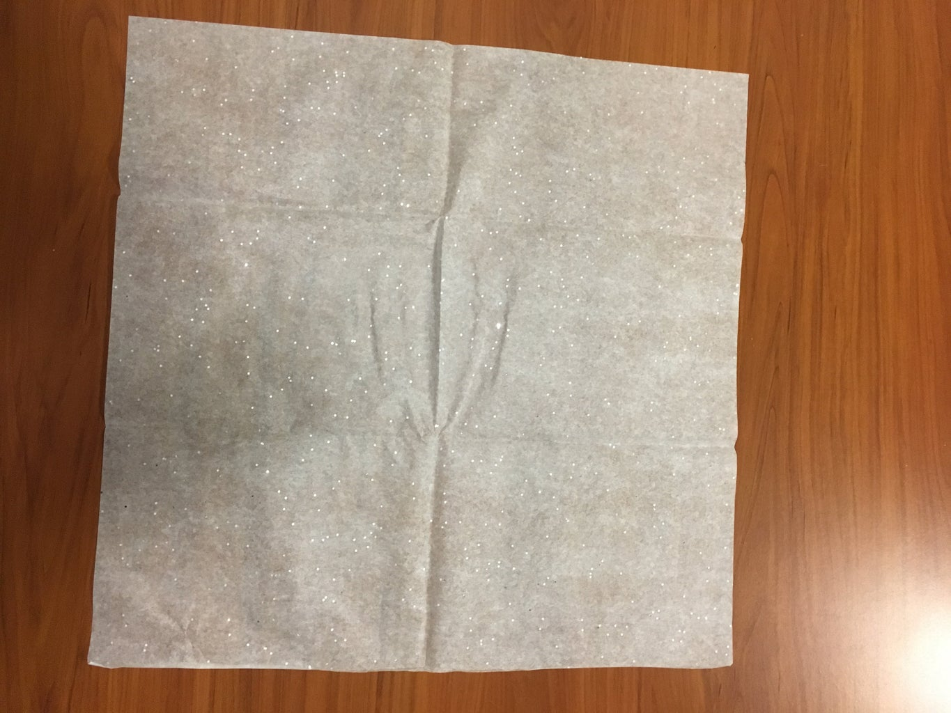 Lay Out the Tissue Paper