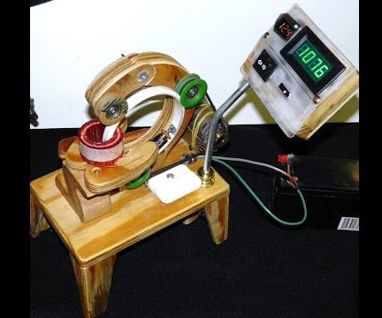 Simple Toroidal Coil Winder