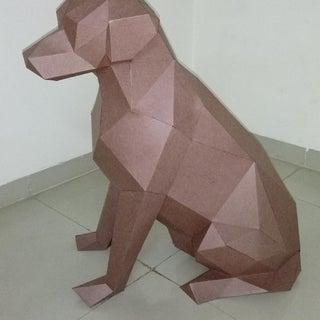 Labrador Papercraft