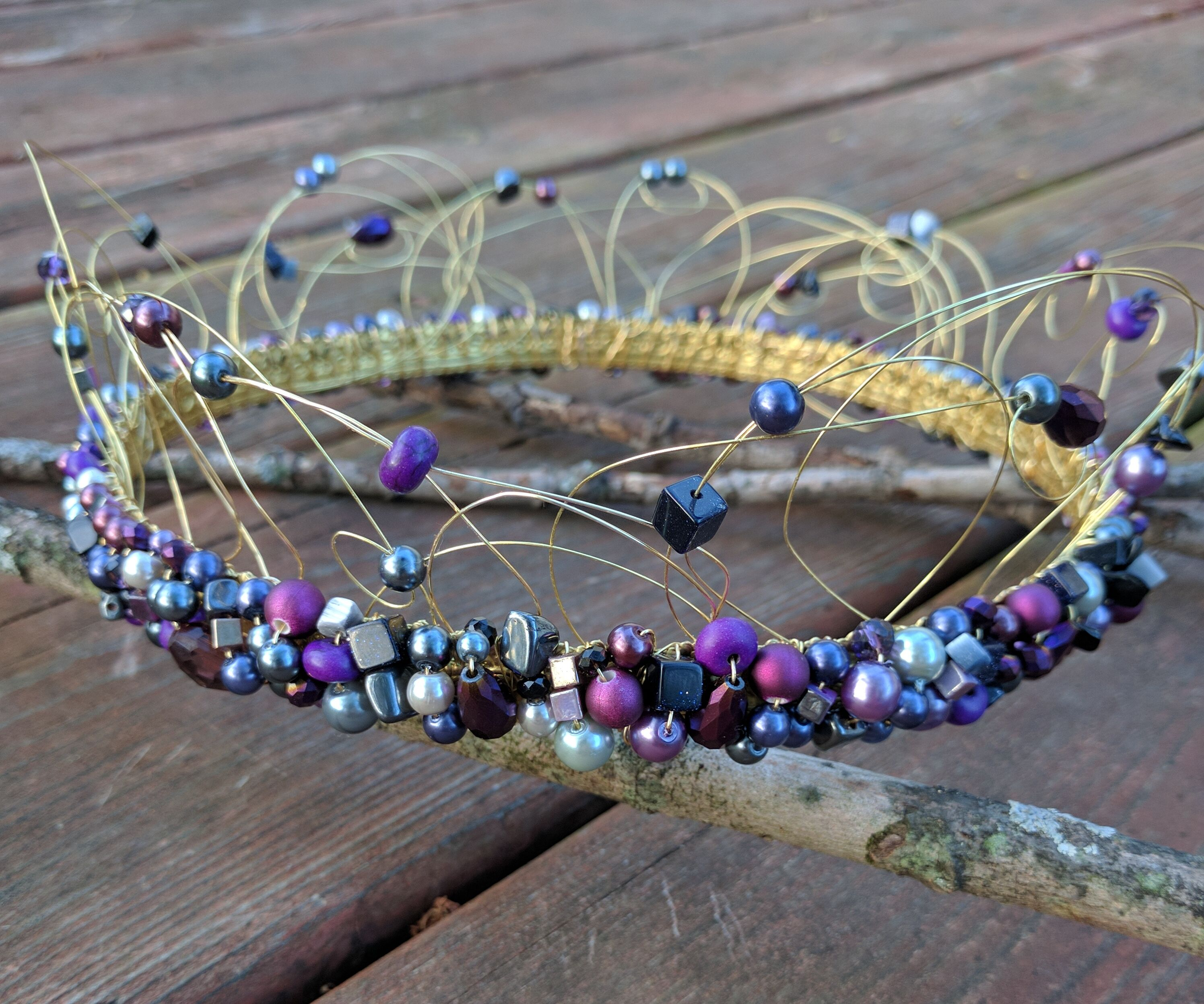 Beaded Crown for a Prince(ss)