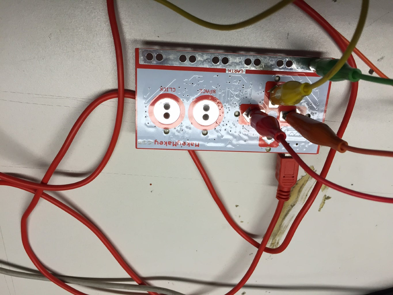 Connect Your MakeyMakey.
