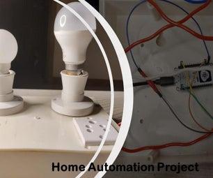家用自动化开关灯泡在移动应用