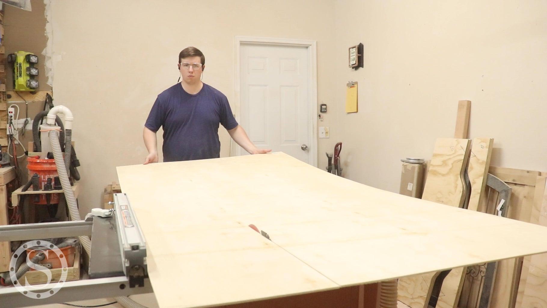 Breakdown Top Plywood