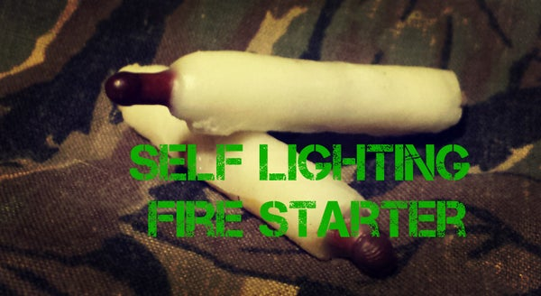 Self Lighting Fire Starters