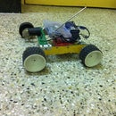 Tracked Robot Built
