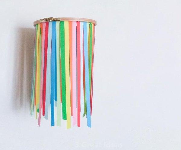 Colorful Wall Hanging Room Decor Idea